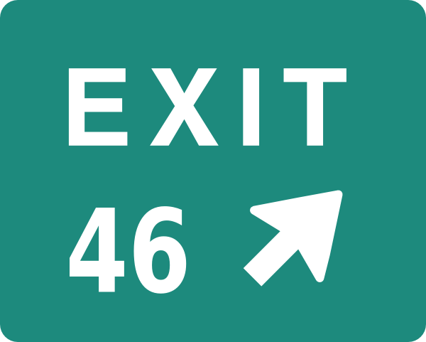 Exit 46 Clip Art at Clker.com.