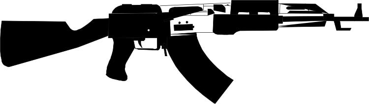 Ak 47 Clip Art.