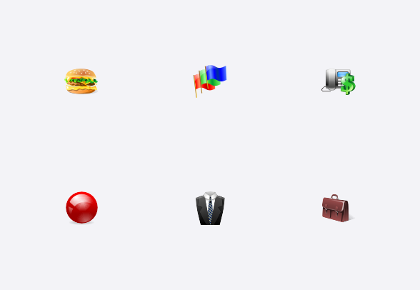 48x48 Free Object Icons icons by Aha.