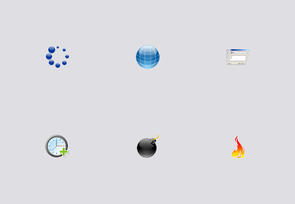 48x48 Free Time Icons icons by Aha.