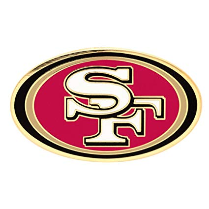 San Francisco 49ers Team Logo Pin.