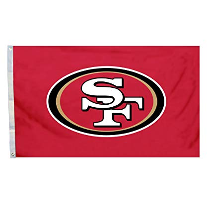 NFL San Francisco 49ers Logo Only 3.