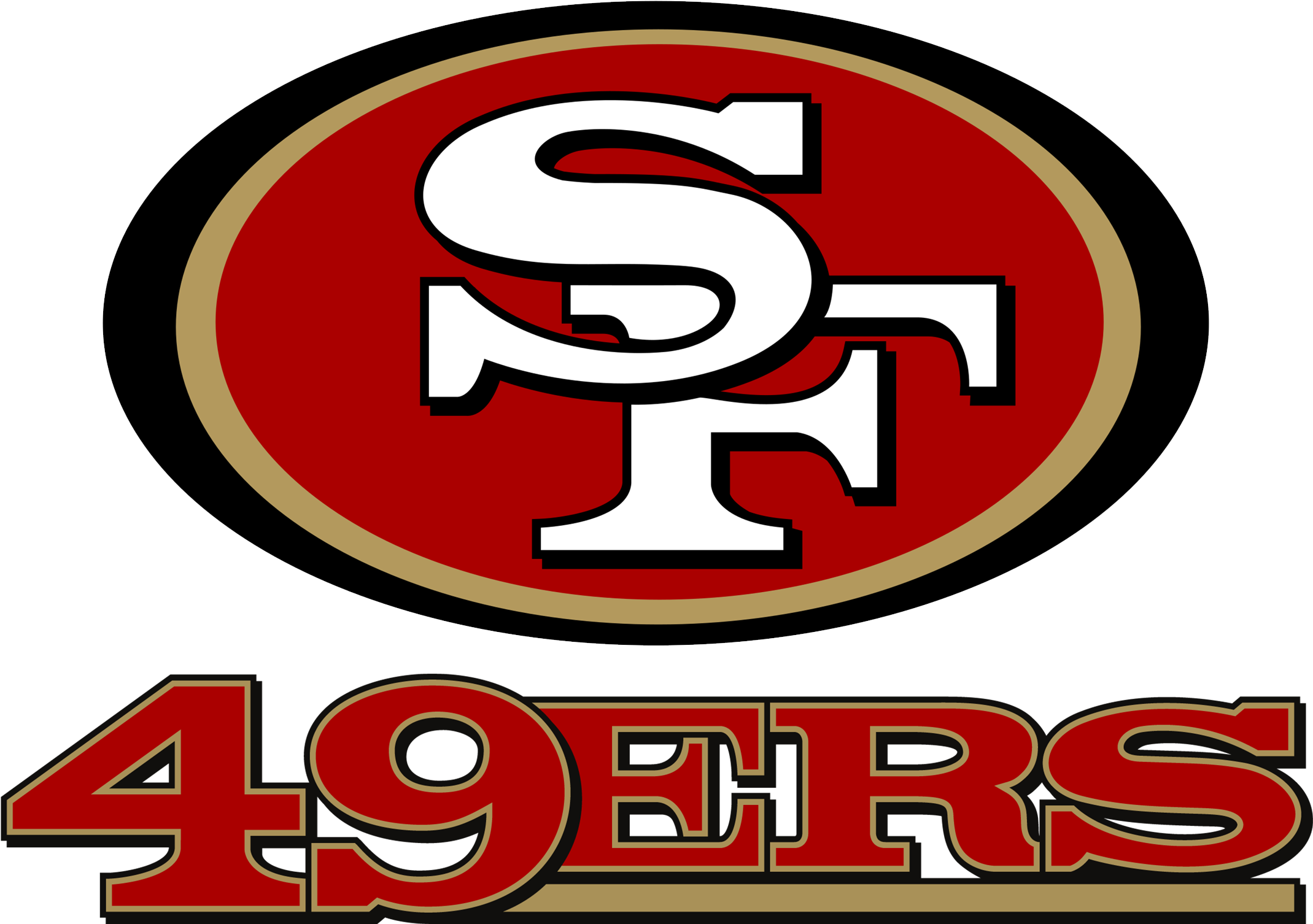 San Francisco 49ers Logo Png Transparent Svg Vector.