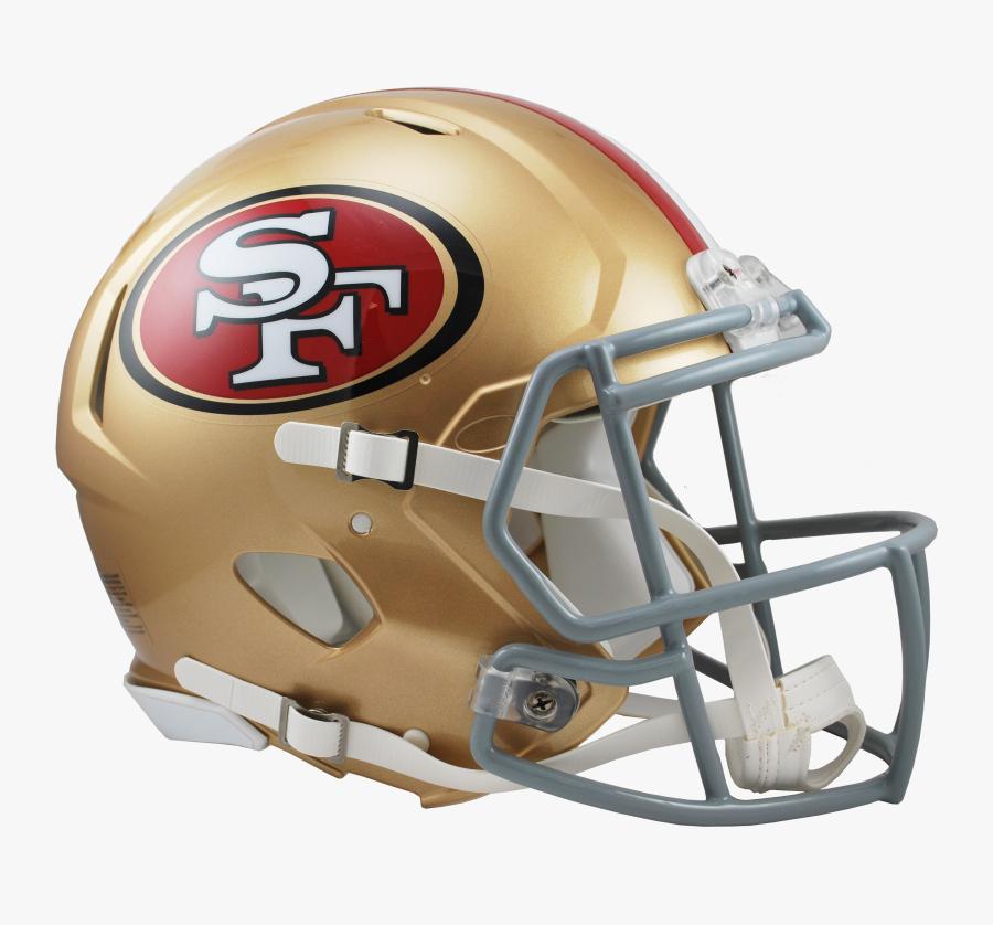 San Francisco 49ers Helmet Png.