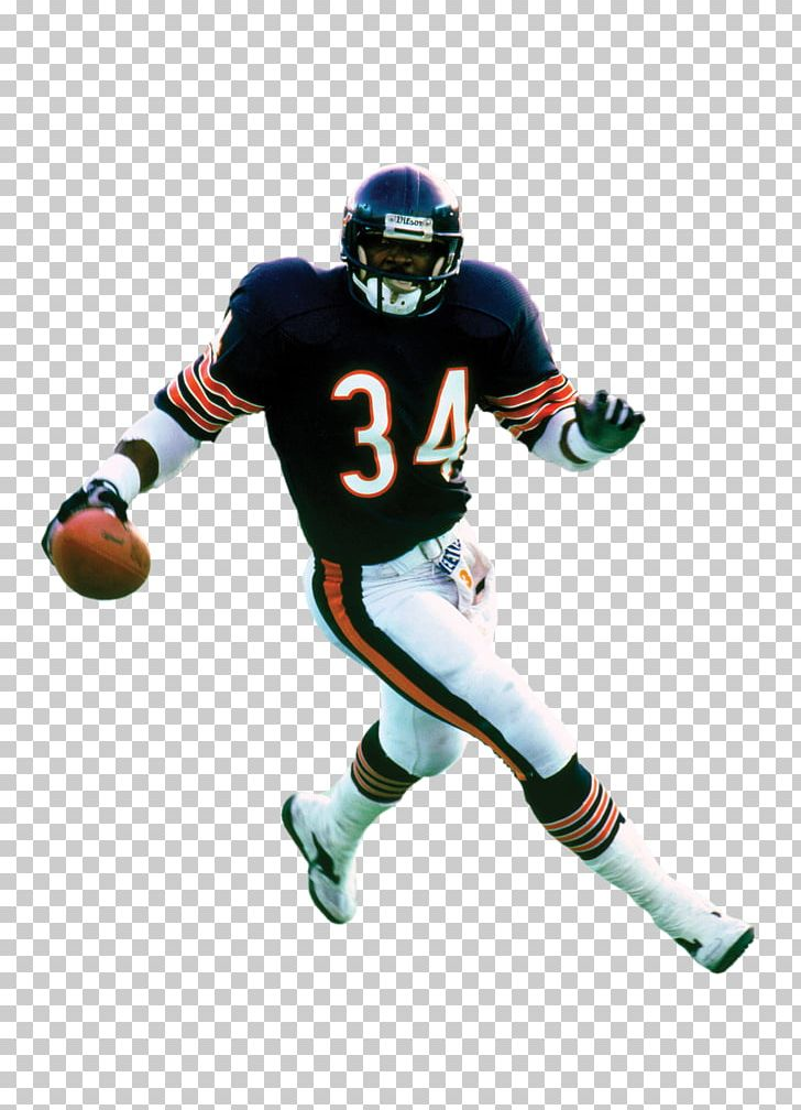 Chicago Bears NFL Running Back American Football Athlete PNG.