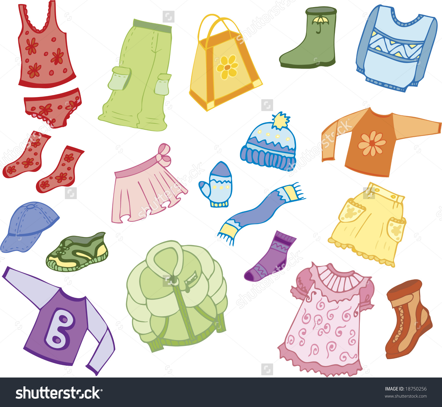 Clothes for kids clipart 8 » Clipart Station.