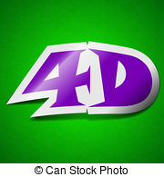 4d effect Clipart and Stock Illustrations. 154 4d effect vector.