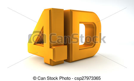 4d cinema technology symbol Clipart and Stock Illustrations. 8 4d.