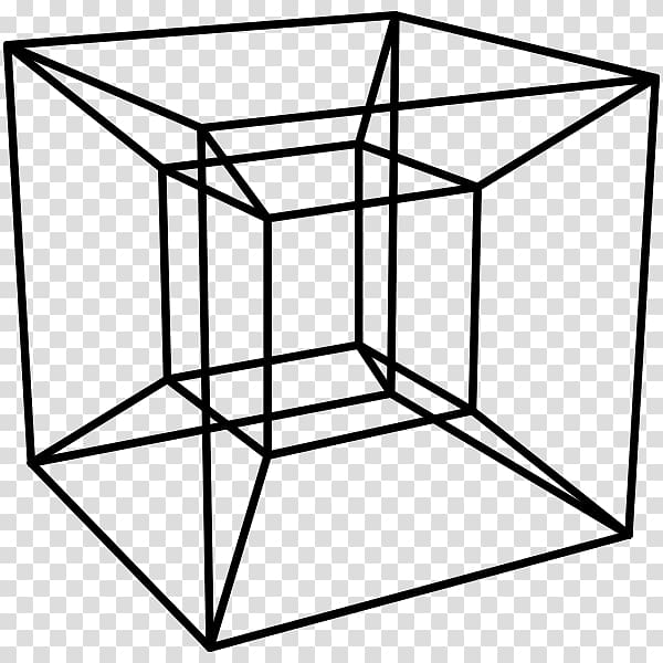 Cube illustration, Tesseract Four.