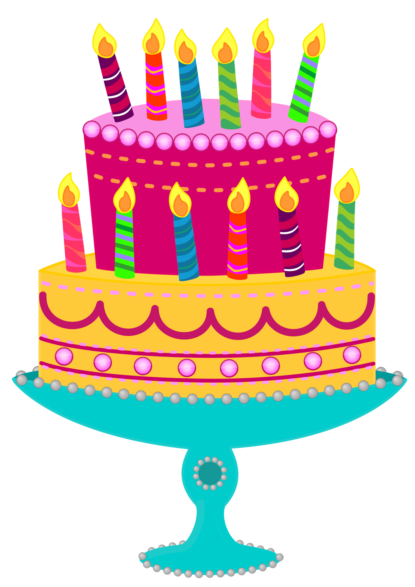 Clipart happy birthday cake clipart images gallery for free.