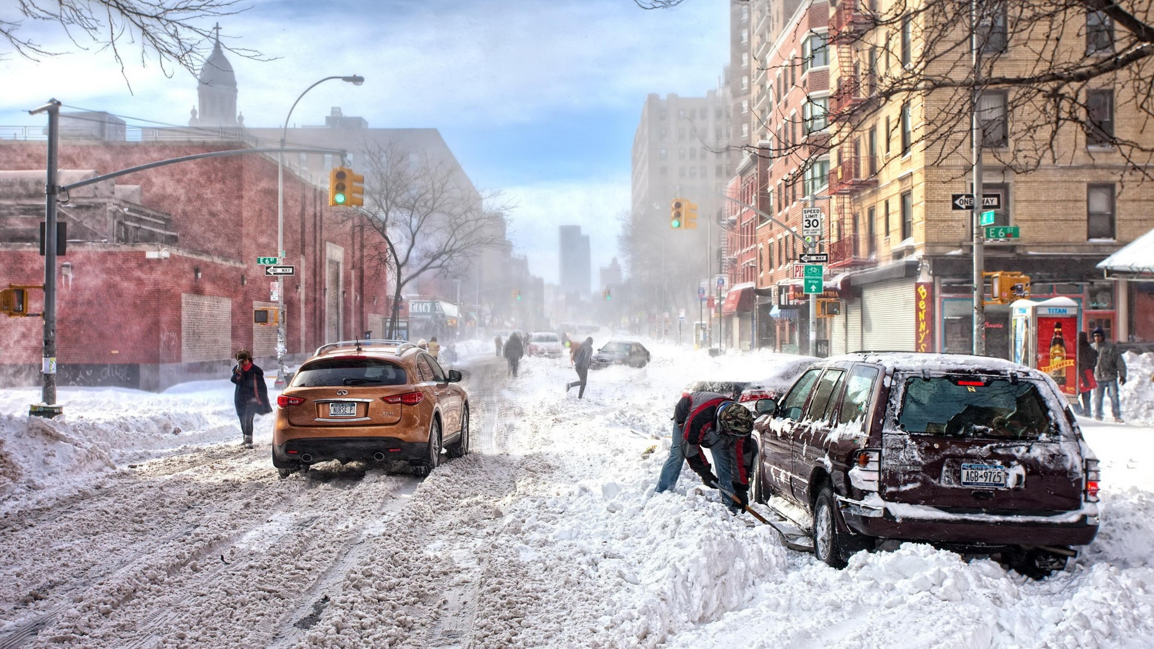 New York 4k Clipart.