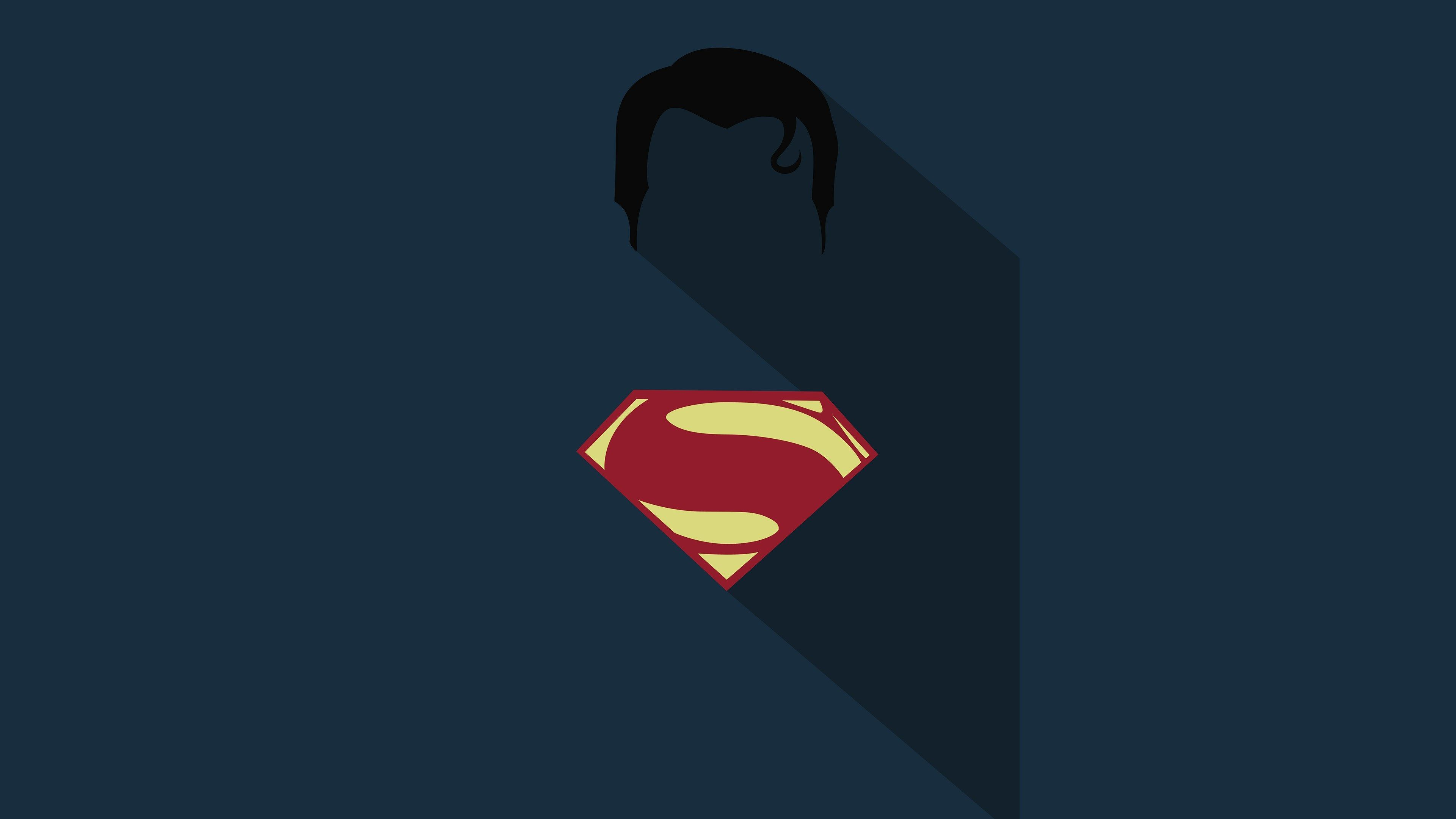 Minimalist Superman Wallpapers.