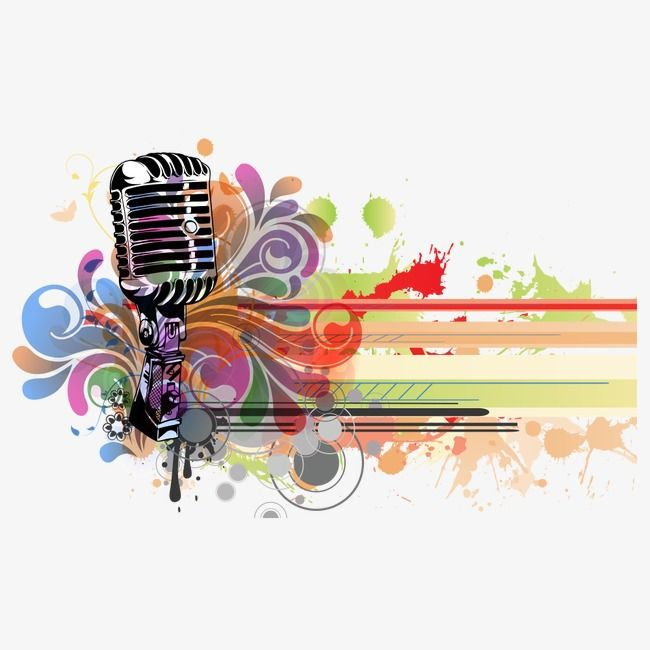 Microphone, Microphone Clipart, Musical Instruments PNG.