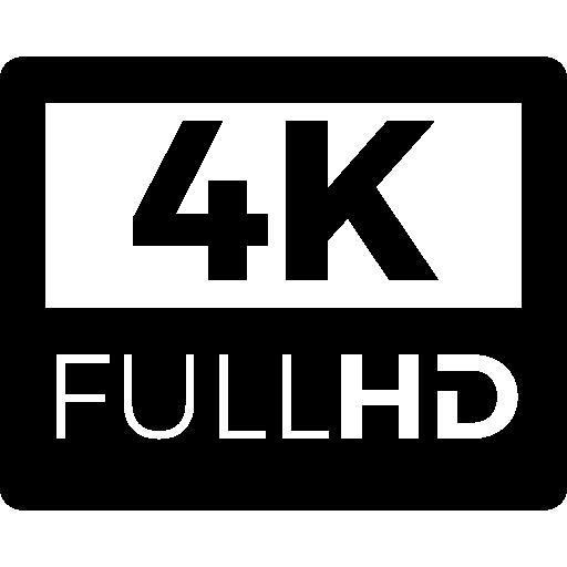 4k fullhd Icons.