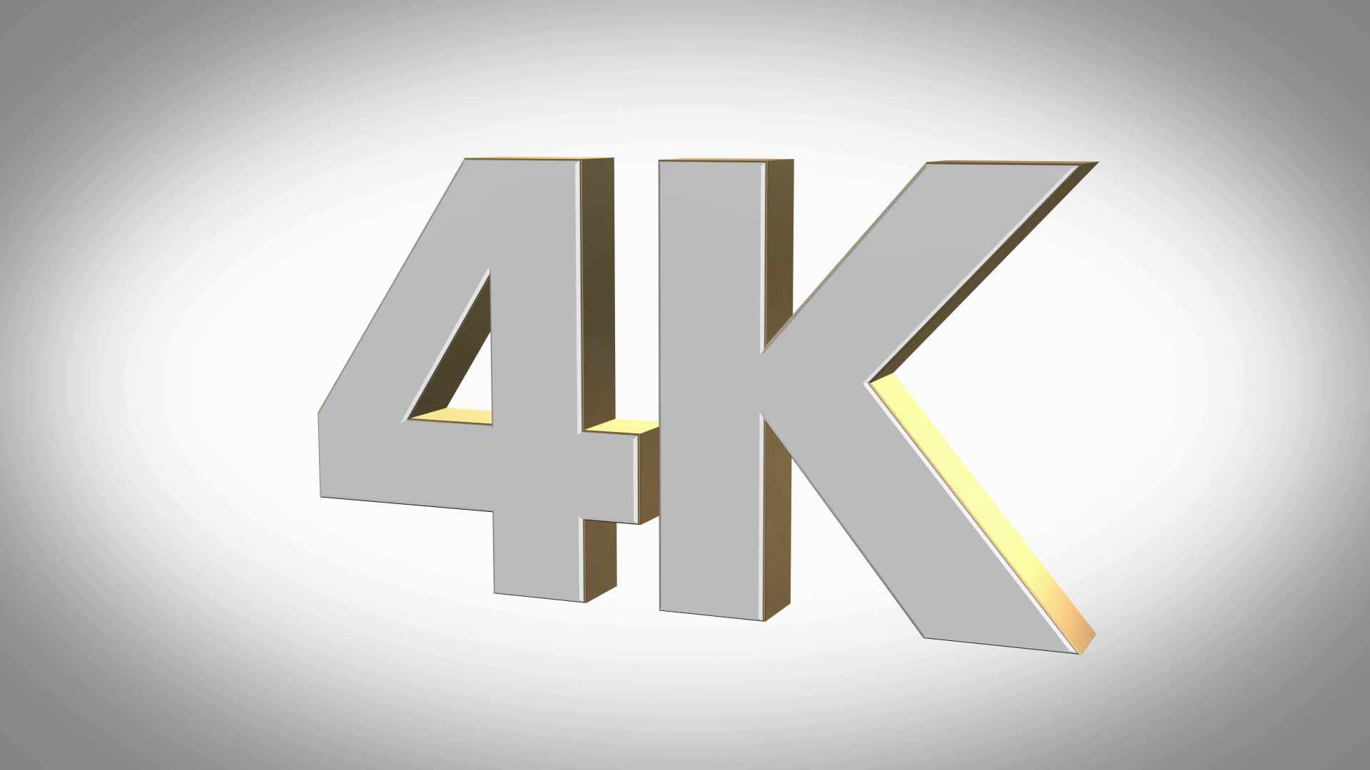 4K UltraHD 3D logo icon animation Motion Background.