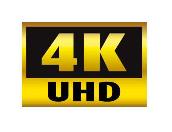 4K UHD logo png.