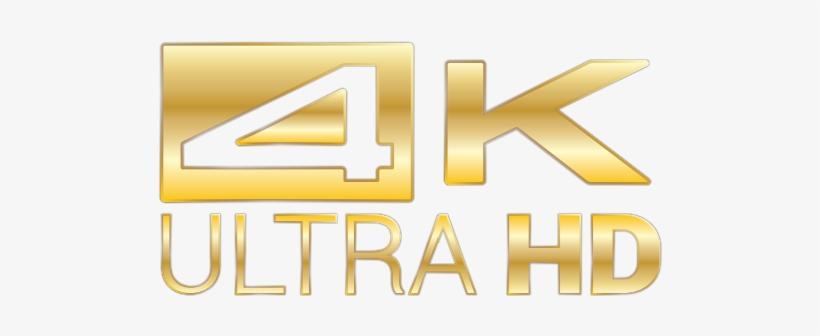 4k Video Logo Png.