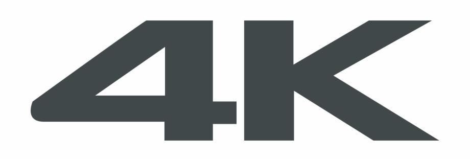 4k Logo Png Transparent.