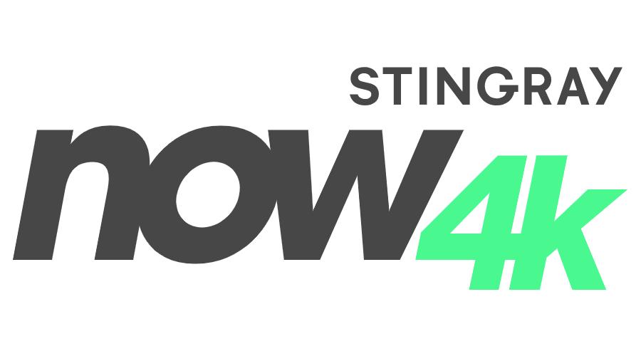 Stingray Now 4K Vector Logo.