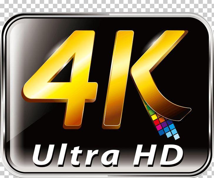Logo 4K Resolution Ultra.