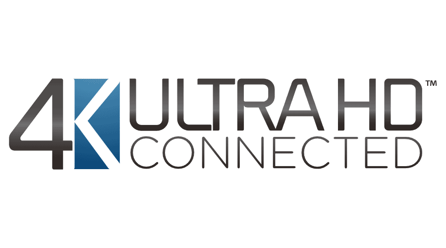 Samsung 4K Ultra HD Connected Vector Logo.