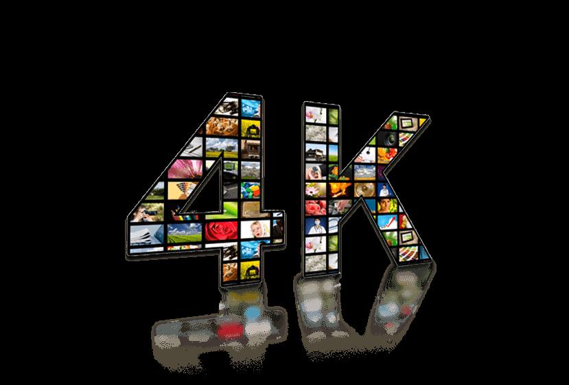 4K TV Programming.