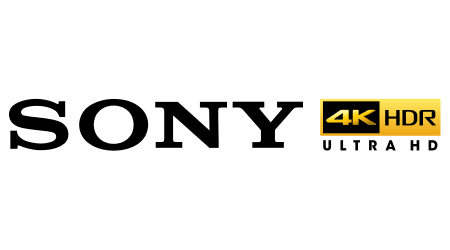 Sony 4K HDR Ultra HD Vector Logo.