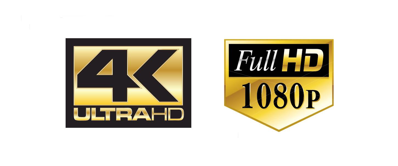 4K Ultra HD.