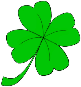Four Leaf Clover Clipart.