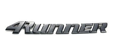 1X NEW 4RUNNER Tailgate Logo Emblem Decal Decorative.