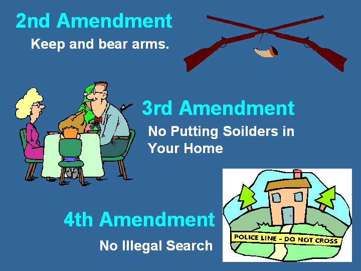 Illustrated Bill of Rights.