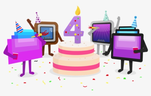 Free Happy Anniversary Free Clip Art with No Background.
