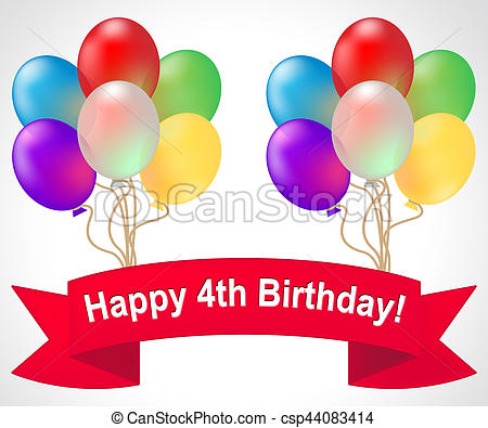 Happy 4th birthday Illustrations and Stock Art. 1,271 Happy 4th.
