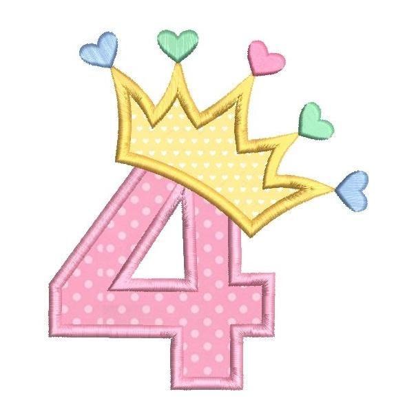 4th Birthday Princess (SA510.