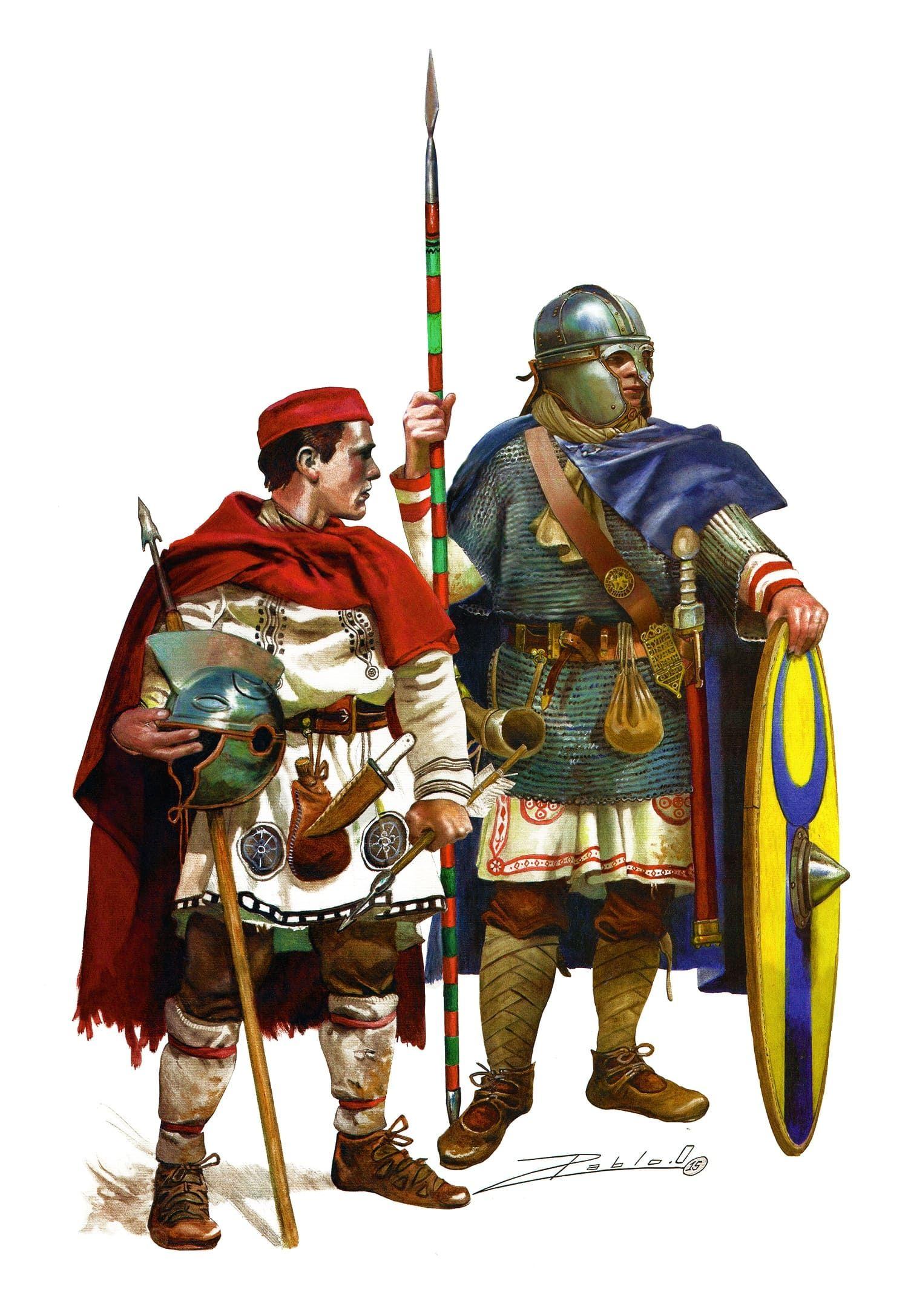 Roman Infantry, 4th century..