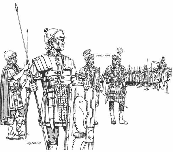 Ancient Roman Military, Army.