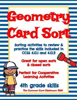 Geometry Card Sort.