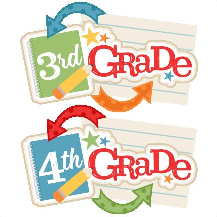 4th grade classroom clipart.
