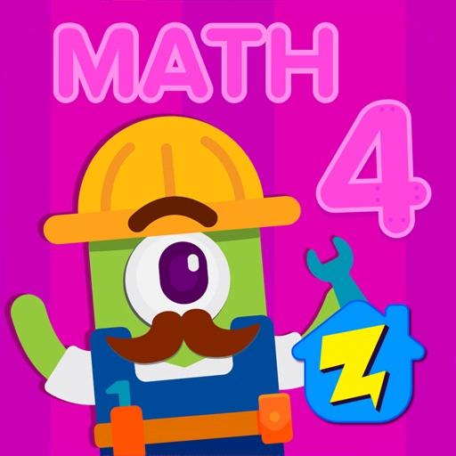 4th Grade Math: Fun Kids Games App for iPhone.