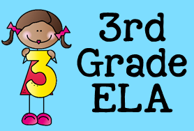 3rd Grade ELA (Clipart by Graphics from the Pond).