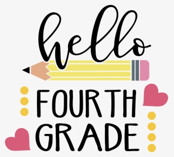 Free 4th Grade Clip Art with No Background.