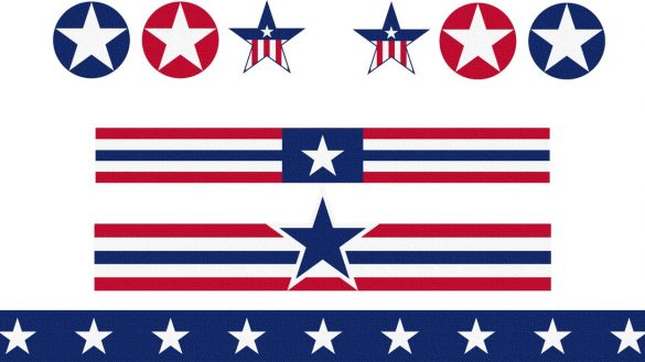 Fourth of july banner clipart 4 » Clipart Station.