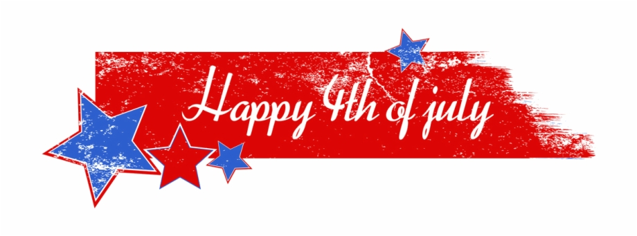 Happy 4Th Of July Banner Png.