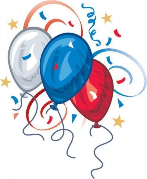 Patriotic balloons clip art clip art patriotic clipart.