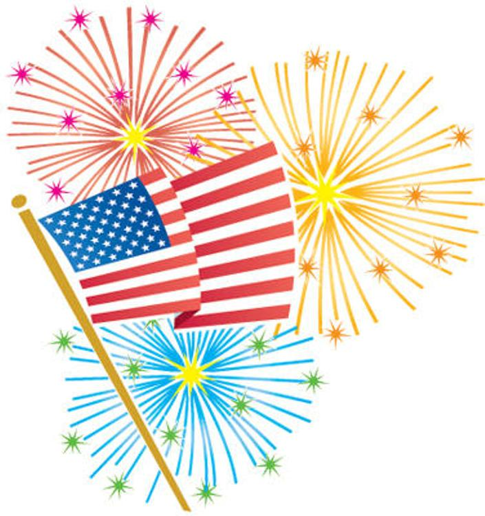 4th Of July Fireworks Clipart Free Download Clip Art.