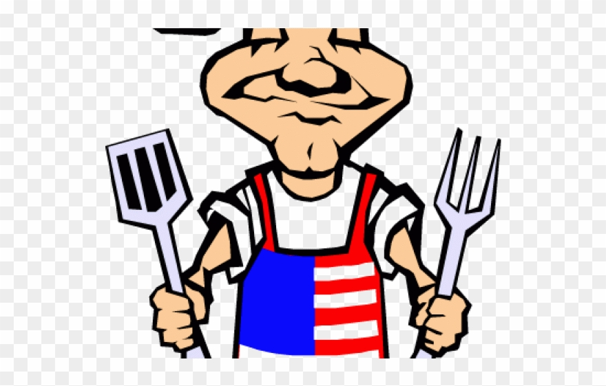 Grill Clipart 4th July.
