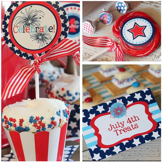 7 patriotic printables for the 4th of July.