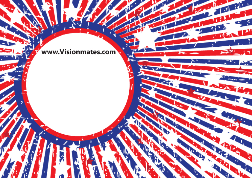 4th of July clipart section.