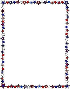 4th Of July Borders.