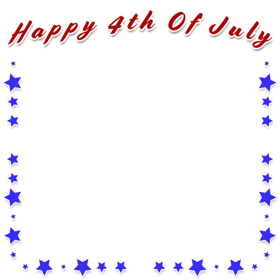 4th Of July Borders For Word.